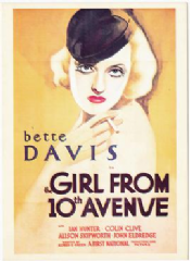 The Girl from 10th Avenue 1935 DVD - Bette Davis / Ian Hunter